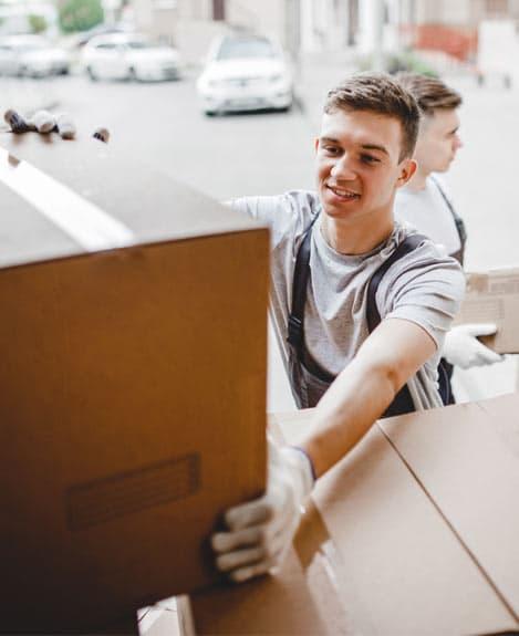 stocker des affaires pendant un déménagement