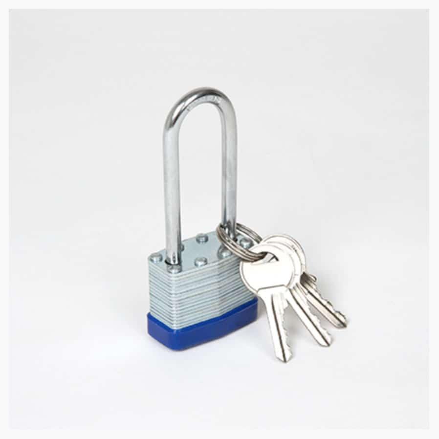 cadenas à clés sécurisé