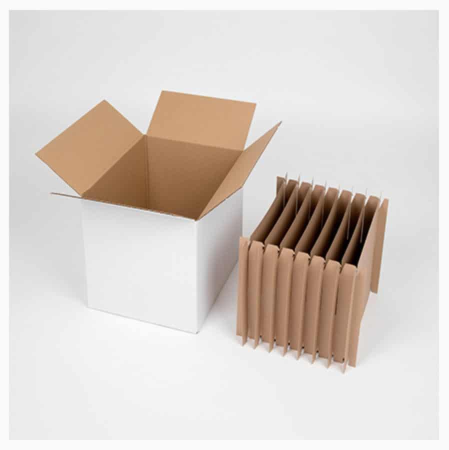 carton de déménagement pour assiettes