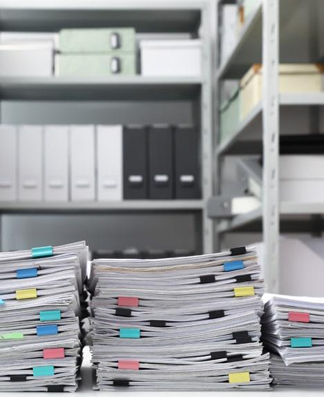 entreposer ses archives dans un box de self-stockage