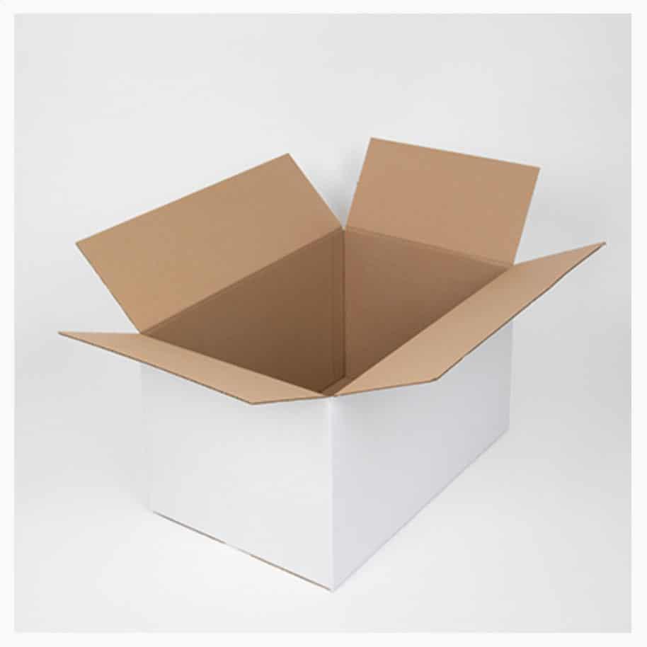 grand carton de déménagement multi-usages