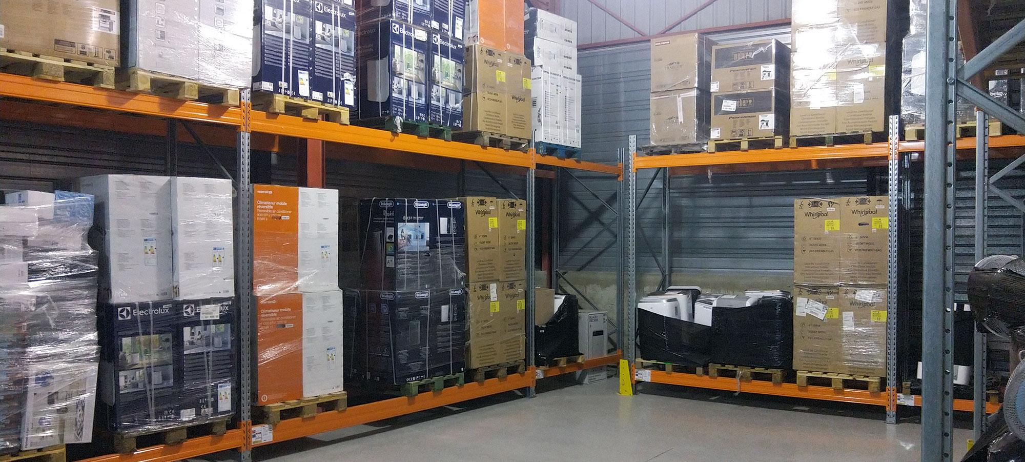 loubox : stockage à la palette pour professionnels