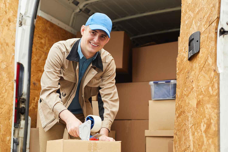 location d'un véhicule utilitaire léger pour un déménagement