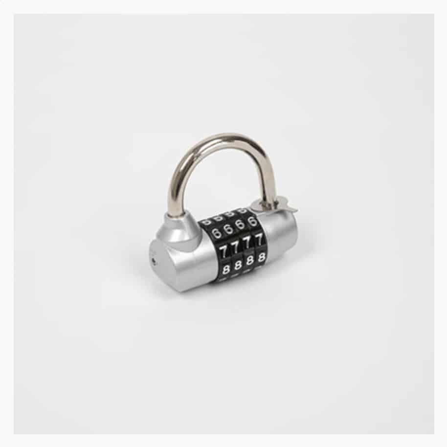 cadenas à code sécurisé et solide